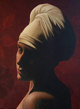 Girl Without A Pearl Earring by Toby Boothman