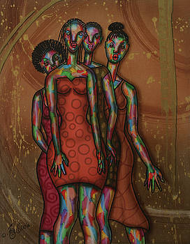 Girlfriends by Fred Odle