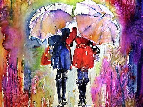 Girlfriends under umbrella cd by Kovacs Anna Brigitta