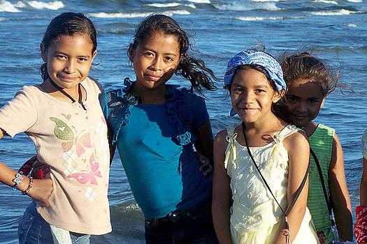 Johana - Girls at Lake Managua