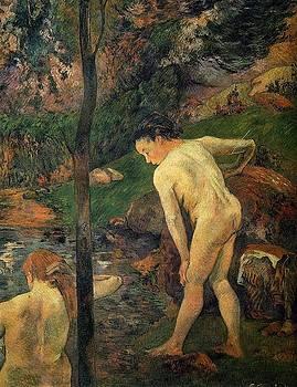 Gauguin - Girls Bathing