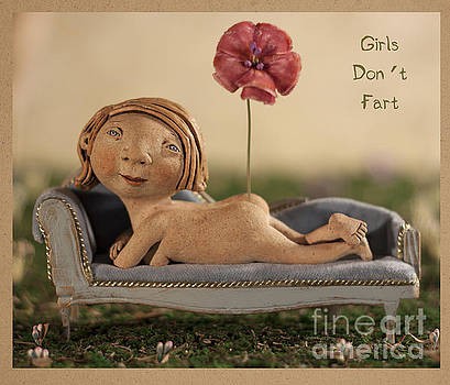 Girls Don't Fart by Kina Crow