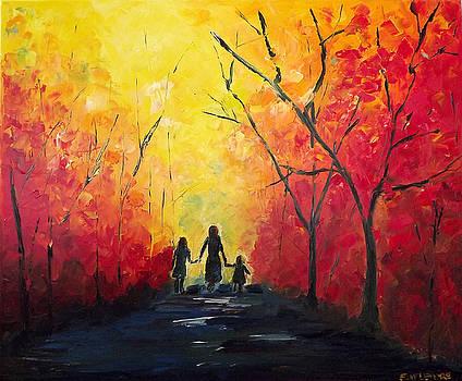 Girls Walking by Emily McLemore