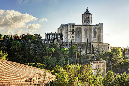 Girona Cathedral in Catalonia by Marc Garrido