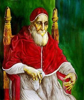 Giulio II Raffaello by Francesco Falcolini