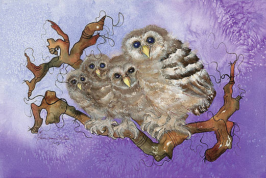 Give a Little Hoot by Cherie Nowlin McBride - Duckie