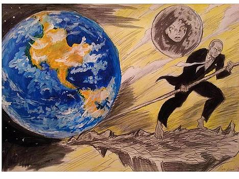 give me a place to stand and I'll move the earth by Mark Bradley