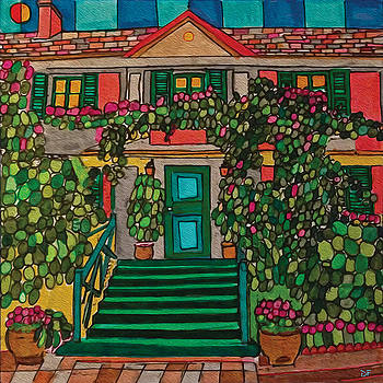 Giverny by Dora Ficher