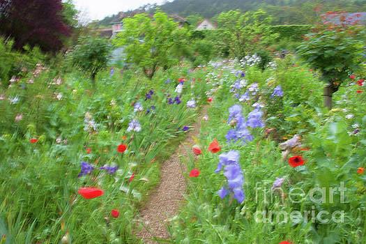 Giverny Monet's Garden by Jean-Luc Baron