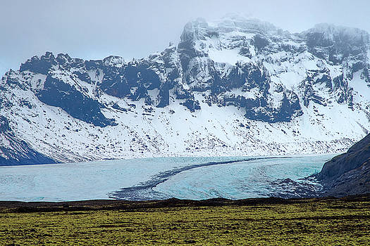 Glacier and Mountain, Iceland by Pradeep Raja PRINTS