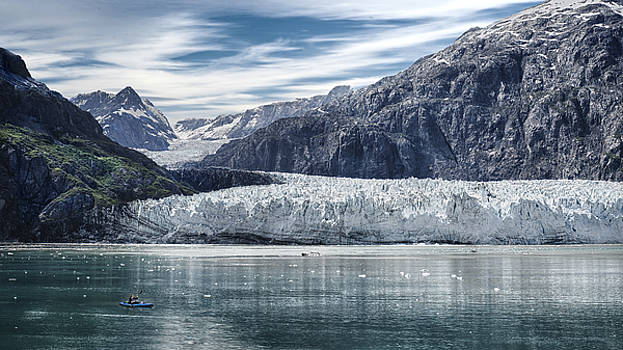 Glacier Bay Alaska by Gary Warnimont