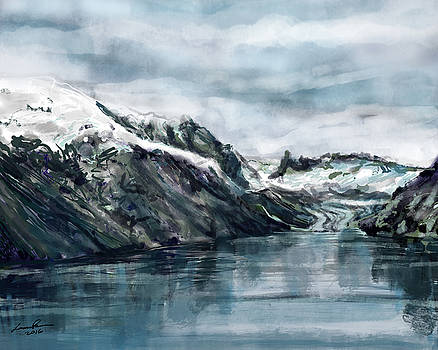 Glacier Bay, Alaska by Laura Ross
