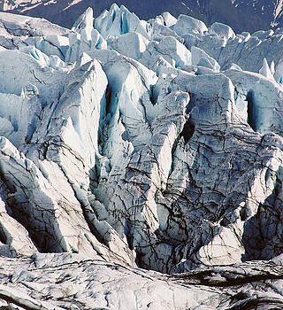 Glacier Detail by Kimberly Blom-Roemer