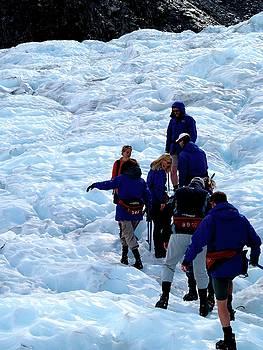 Glacier Hike by Lee Stickels