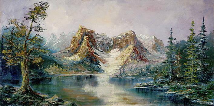 Glacier Lake by Rebecca Kimbel