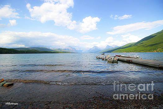Glacier National Park Lake McDonald Four by Veronica Batterson