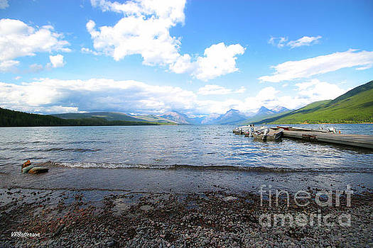 Glacier National Park Lake McDonald Three by Veronica Batterson