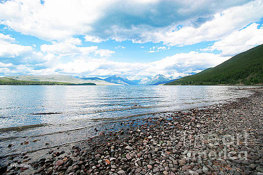 Glacier National Park Lake McDonald Two by Veronica Batterson