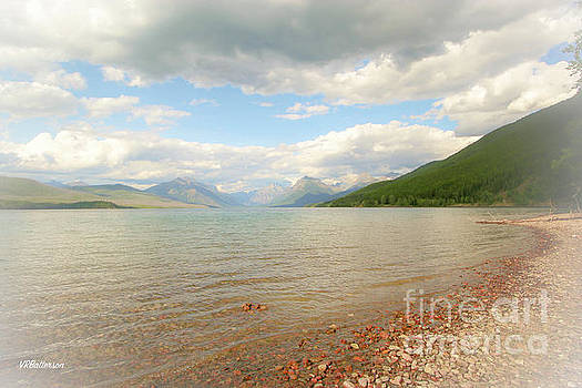 Glacier National Park Lake McDonald by Veronica Batterson
