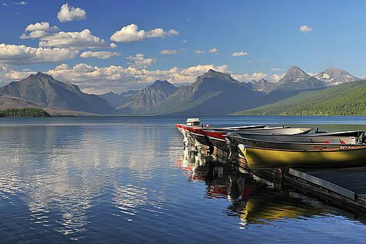 Glacier National Park McDonald Lake by Dean Hueber