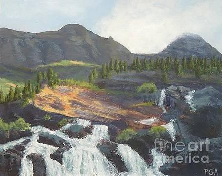 Glacier National Park V by Phyllis Andrews