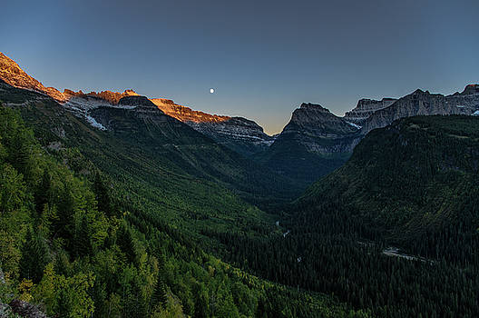 Jedediah Hohf - Glacier Park Evening, Montana