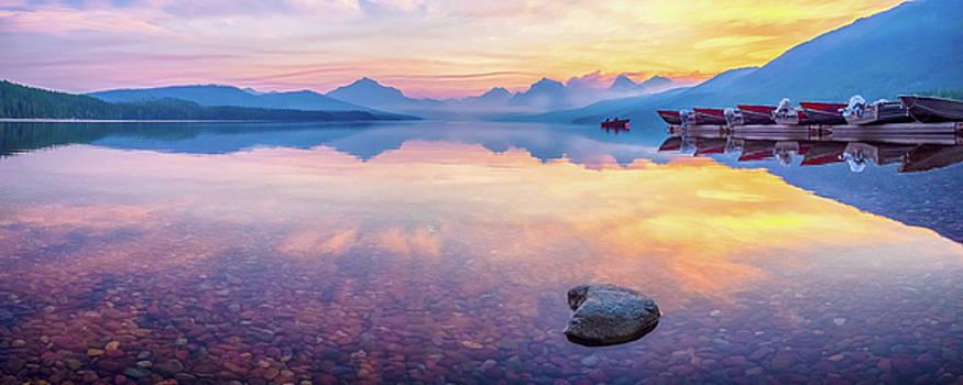 Glacier Pastels by Rob Wilson