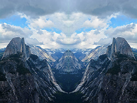 Glacier Point Yosemite Mirror by Kyle Hanson