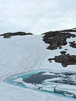 Glacier pool, Norway, July 2014 by Chris Honeyman