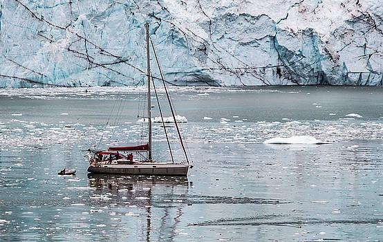 Glacier Sailing by Ed Clark