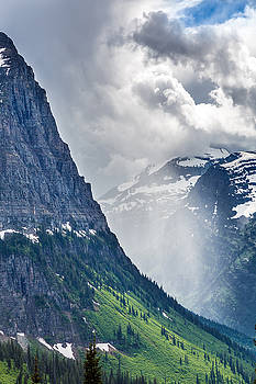 Glacier Storm by Robert Bynum