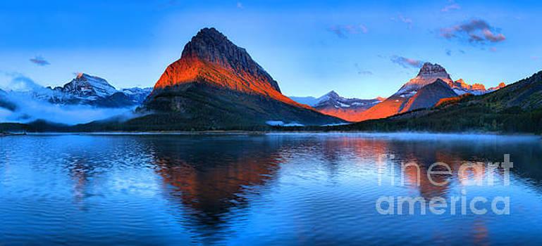 Adam Jewell - Glacier Sunrise Stripe