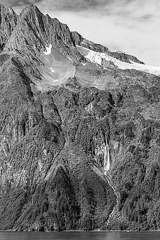 Glacier Waterfall by Peter J Sucy