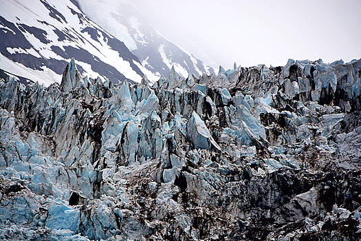 Glaciers Closeup - Alaska by Lorenzo Cassina