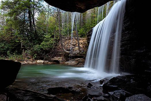 Glade Creek Falls by Jeremy Clinard