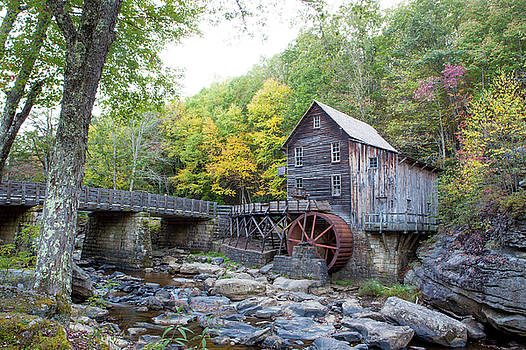 Glade Creek Grist Mill by John Daly
