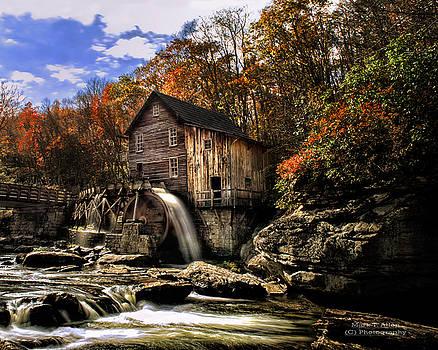Glade Creek Grist Mill by Mark Allen