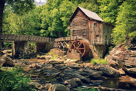 Glade Creek Grist Mill by Travis Rogers