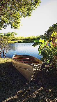 Glades Boat by Dulce Levitz