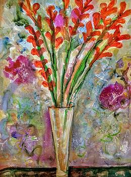 Gladiolas Were Granma's Favorite  by Joyce Lieberman