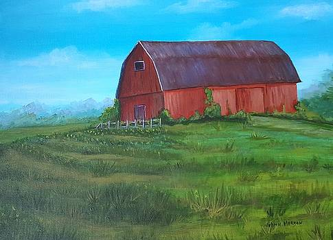 Gladwin Barn 2 by JoAnn Morgan Smith