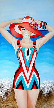 Glamour En La Playa by Carmen Junyent
