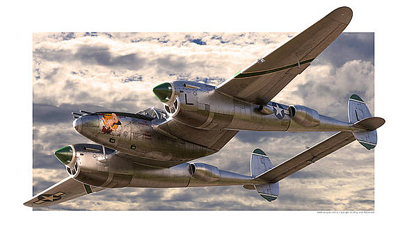 Glamour P-38 by Gino Marcomini
