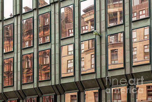 Sophie McAulay - Glasgow Building reflections