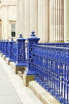 Sophie McAulay - Glasgow cast iron fence