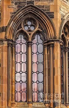 Sophie McAulay - Glasgow ornate window