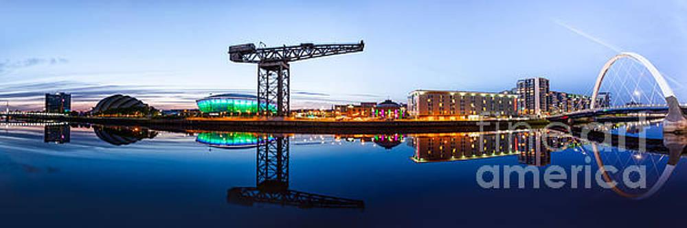 Glasgow Riverside Panorama by John Farnan