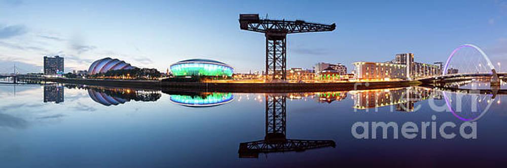 Glasgow skyline panorama by John Farnan