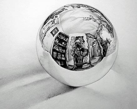 Glass Ball by Tara Aguilar