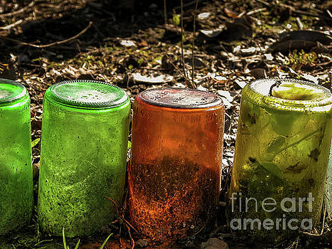 Kathleen K Parker - Glass Bottles Edge